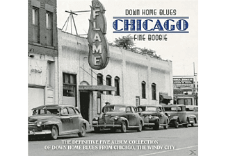 VARIOUS - Down Home Blues Chicago - (CD)