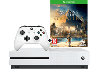 MICROSOFT Xbox One S 1 TB + Assassin's Creed: Origins