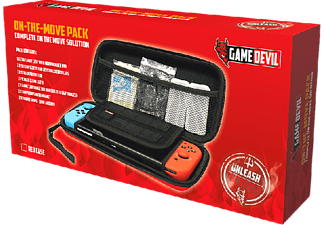 GAMEDEVIL GameDevil Nintendo Switch On the Move Pack (röd)