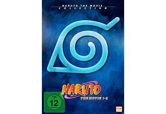Naruto - The Movie Collection - Limited Edition Movie 1-3 - (DVD)