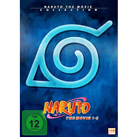 Naruto - The Movie Collection - Limited Edition Movie 1-3 [DVD]