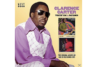 Clarence Carter - Testifyin' & Patches - (CD)