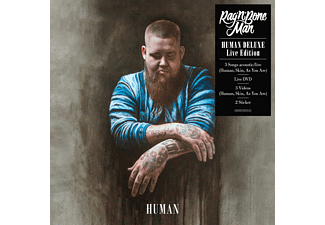 Rag'n'Bone Man - Human (Deluxe Live Edition) - (CD + DVD Video)