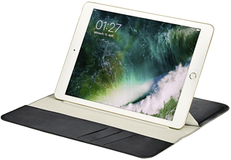 HAMA Super Slim Tablethülle, Flip Cover, iPad 9.7 (2017), 9.7 Zoll, Blau