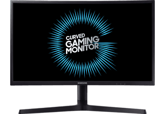SAMSUNG C24FG73 LED 23.5 Zoll Full-HD Gaming Monitor (2x HDMI, 1x DisplayPort, 1x Kopfhöreranschluss Kanäle, 1 ms Reaktionszeit, FreeSync, 144 Hz)