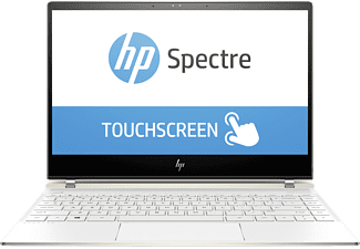 HP Spectre 13-af031ng, Notebook mit 13.3 Zoll, 1 TB Speicher, 8 GB RAM, Core™ i7 Prozessor, Windows 10 Home 64, Weiß