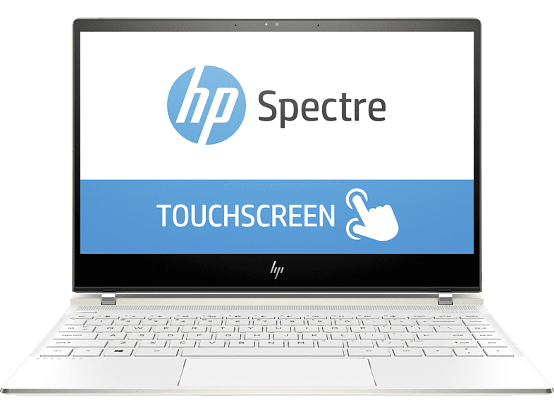 HP Spectre 13-af032ng, Notebook mit 13.3 Zoll Display, Core™ i7 Prozessor, 8 GB RAM, 360 GB SSD, Intel® UHD Graphics 620, Weiß