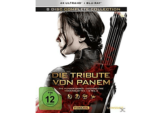 Die Tribute von Panem (Complete Collection) - (4K Ultra HD Blu-ray)