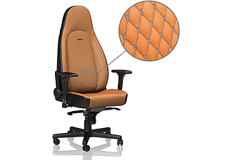 NOBLECHAIRS ICON Real Leather Gamingstol (cognac)