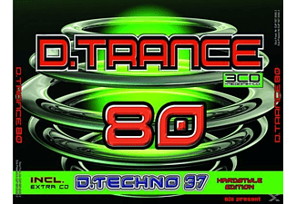 VARIOUS - D.Trance 80 (Incl.D.Techno 37) - (CD)