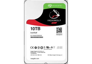 SEAGATE NAS Festplatte 10TB HDD Iron Wolf 7200rpm 6Gb/s SATA 256MB (ST10000VN0004)