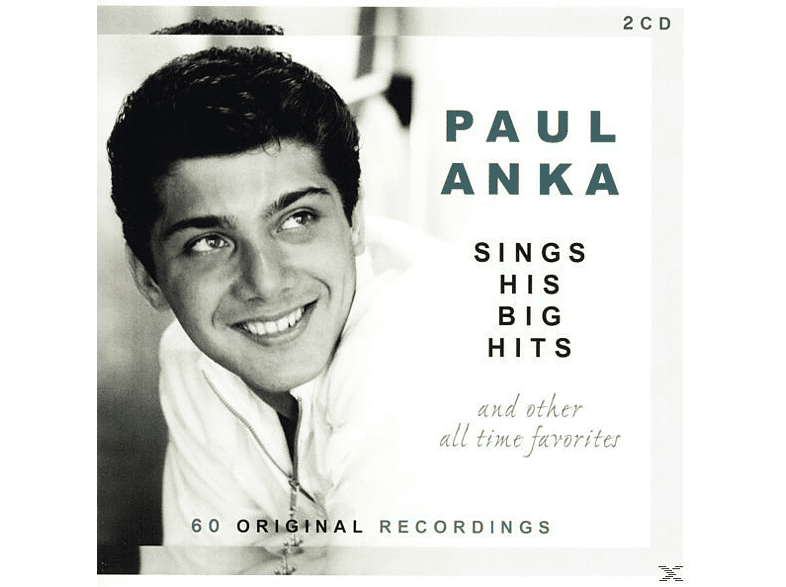 Paul Anka - Sings His Big Hits And Other All-Time Favorites [CD]