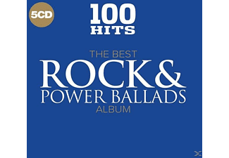 VARIOUS - 100 Hits-Best Rock & Power Ballads - (CD)