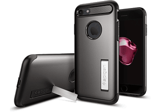 SPIGEN iPhone 7 Case Spigen Slim Armor Gun Metal