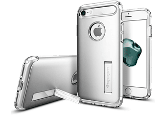 SPIGEN iPhone 7 Case Spigen Slim Armor Satin Silver