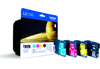 BROTHER LC1100 Value Pack  multicolore
