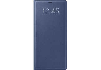 SAMSUNG LED View Cover EF-NN950 Bookcover Samsung Galaxy Note 8 Kunststoff Dunkelblau