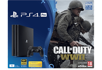 PLAYSTATION PS4 Pro 1 TB + Call of Duty: WWII