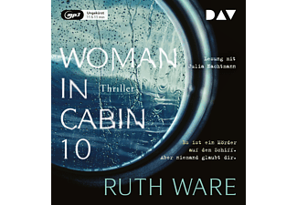 Woman in Cabin 10 - 1 MP3-CD - Krimi/Thriller