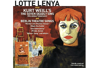 Lotte Lenya - Sings Kurt Weill's The Seven Deadly Sins & Berlin - (CD)