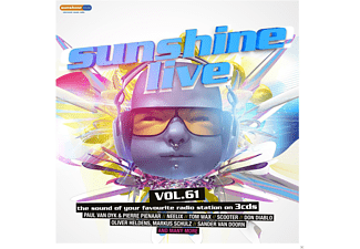 VARIOUS - Sunshine Live 61 - (CD)