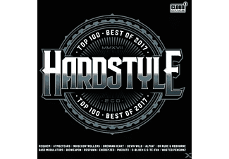 VARIOUS - Hardstyle Top 100-Best Of 2017 - (CD)