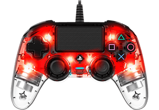 NACON NA360837 Color Light Edition, Controller, Rot