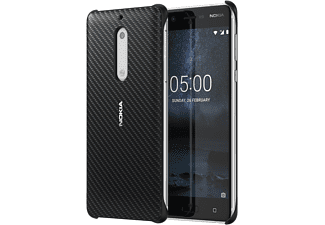 Carbon Fibre Design Case CC-803 Backcover Nokia 5  Schwarz