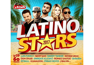 VARIOUS - Latino Stars 2017 - (CD)