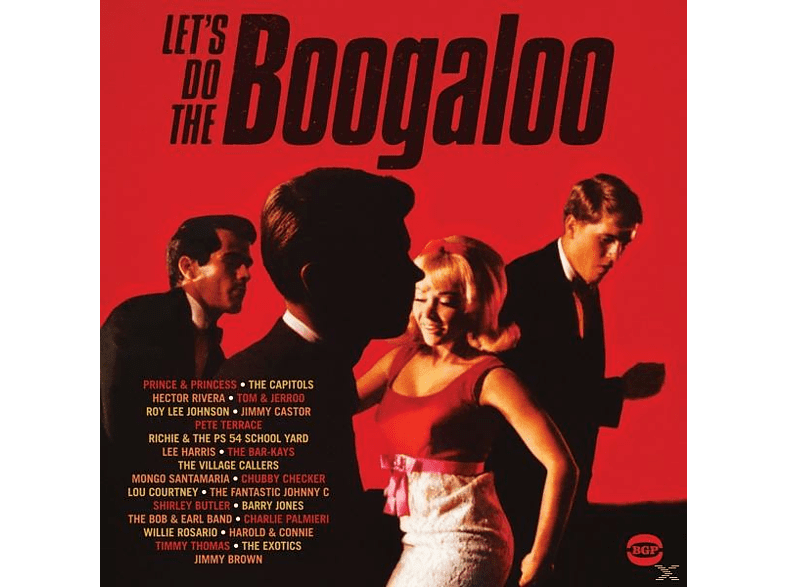 VARIOUS - Let's Do The Boogaloo [CD]