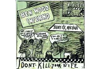 Ben Wood Inferno - Blues Ex Machina - (CD)