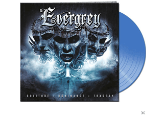 Evergrey - Solitude,Dominance,Tragedy (Gtf.Blue Vinyl) - (Vinyl)