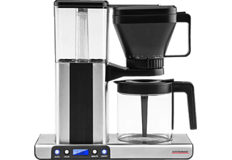 GASTROBACK 42706 Design Brew advanced, Kaffeemaschine, Silber/Schwarz