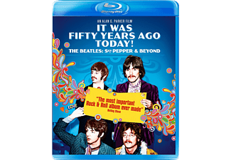 The Beatles - It Was 50 Years Ago Today! the Beatles, Sgt. Pepper and Beyond (Blu-ray)