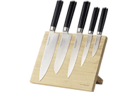 ECHTWERK EW-DM-0322-1 Damaszener Messer-Set 5-tlg.+ Magnet-Block