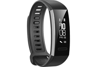 HUAWEI  Band 2 Pro, Fitnesstracker, 114.67 mm + 101.35 mm, Thermoplastisches Polyurethan, Schwarz