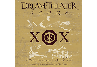 Dream Theater - Score: 20th Anniversary World Tour (CD)