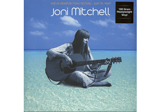 Joni Mitchell - Live At Newport Folk Festival : July 19, 1969 - (Vinyl)