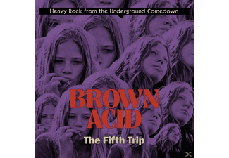 VARIOUS - Brown Acid: The Fifth Trip - (Vinyl)