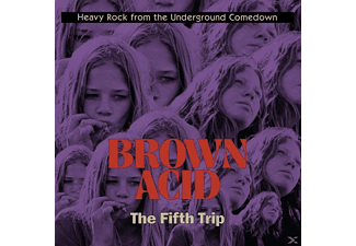 VARIOUS - Brown Acid: The Fifth Trip - (CD)