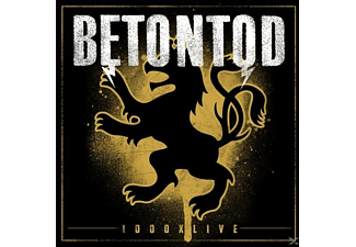 Betontod - 1000xLive - (CD + Blu-ray Disc)