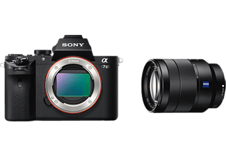 SONY Alpha 7 M2 Kit (ILCE-7M2) Zeiss Systemkamera 24.3 Megapixel mit Objektiv 24-70 mm f/4, 7.6 cm Display  , WLAN