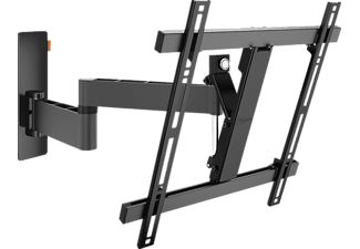 "Soporte TV - Voge's WALL 3245, Hasta 20 Kg, 32"" a 55"", Rotatorio, Reclinable, Negro"