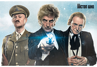 PYRAMID INTERNATIONAL Doctor Who Poster Twice Upon A Time Großformatige Poster, Mehrfarbig