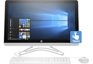 "HP 22-b300nn fehér All in One számítógép 2BZ55EA (21,5"" FullHD touch/Core i3/4GB/1TB HDD/Windows 10)"