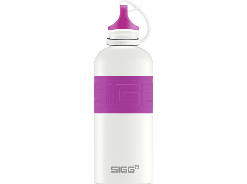 SIGG 8687.4 CYD Pure White Touch Berry Trinkflasche