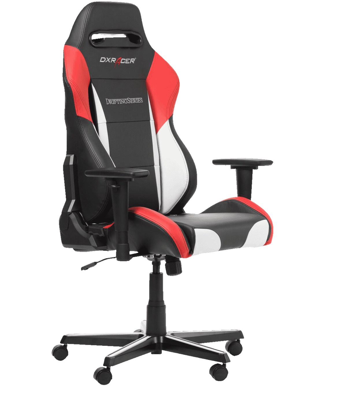 DXRACER Drifting Black/White/Red Gaming Chair Schwarz/Weiß/Rot
