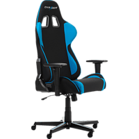 DXRACER Formula Black/Blue Gaming Chair, Schwarz/Blau