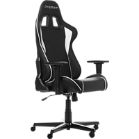 DXRACER Formula Black/White Gaming Chair, Schwarz/Weiß