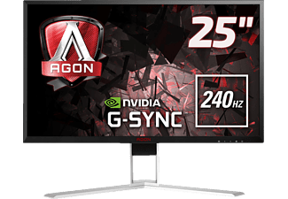 AOC AGON AG251FG 24.5 Zoll Full-HD Gaming Monitor (1 ms Reaktionszeit, G-SYNC, 240 Hz)